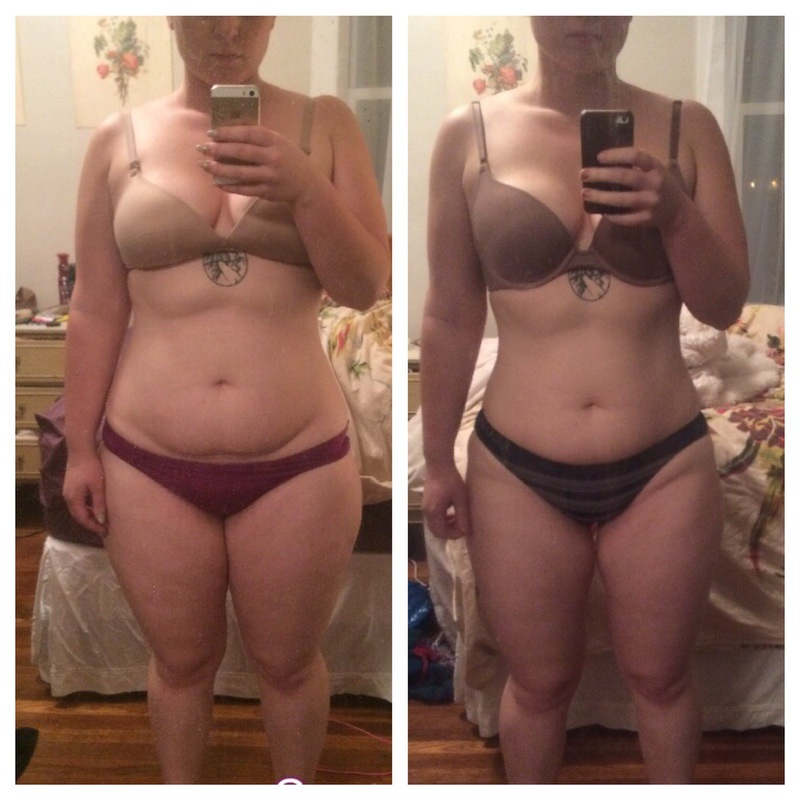 5 foot 6 Female Before and After 14 lbs Weight Loss 199 lbs to 185 lbs