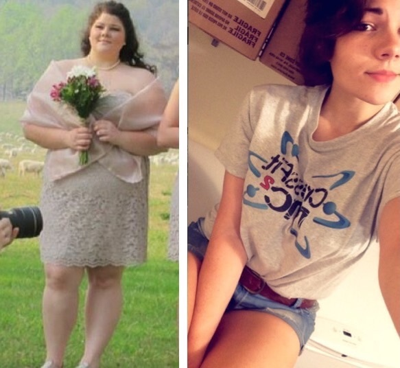 174 lbs Fat Loss Before and After 5 feet 10 Female 324 lbs to 150 lbs