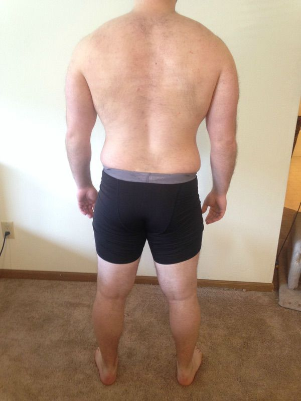 3 Pics of a 215 lbs 5 feet 9 Male Weight Snapshot