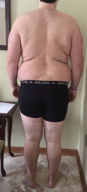 3 Pictures of a 6 foot 5 343 lbs Male Fitness Inspo