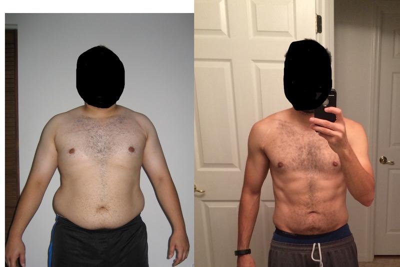 5'6 Male 80 lbs Weight Loss 230 lbs to 150 lbs