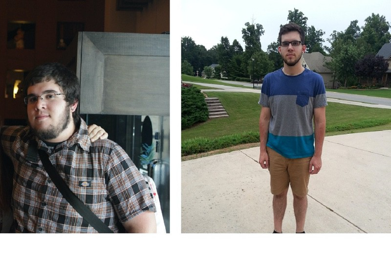 6'2 Male 116 lbs Weight Loss Before and After 300 lbs to 184 lbs