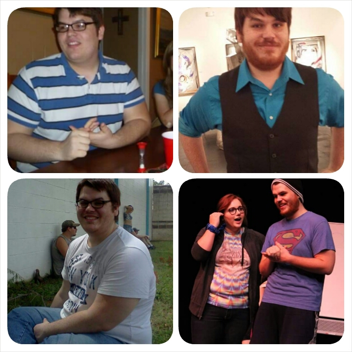 6 foot 1 Male 96 lbs Fat Loss Before and After 346 lbs to 250 lbs