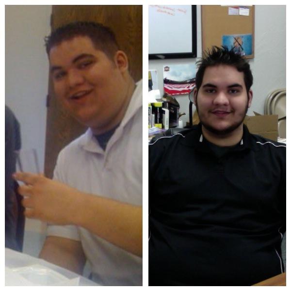 55 lbs Fat Loss 6 foot 7 Male 375 lbs to 320 lbs