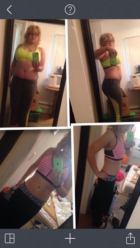 38 lbs Fat Loss 5 feet 2 Female 163 lbs to 125 lbs