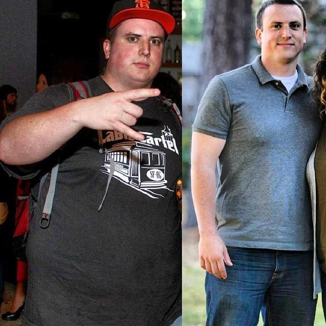 5 feet 11 Male 100 lbs Weight Loss 300 lbs to 200 lbs