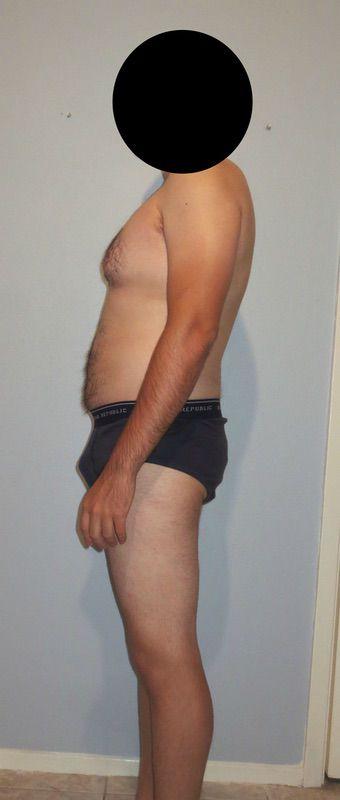 4 Pics of a 5'11 188 lbs Male Fitness Inspo