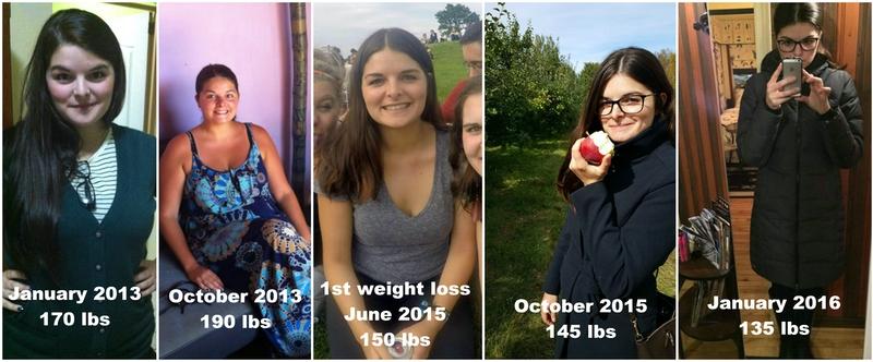 Progress Pics of 55 lbs Fat Loss 5 feet 6 Female 190 lbs to 135 lbs