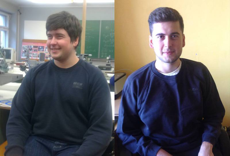 Before and After 45 lbs Weight Loss 5 foot 11 Male 236 lbs to 191 lbs