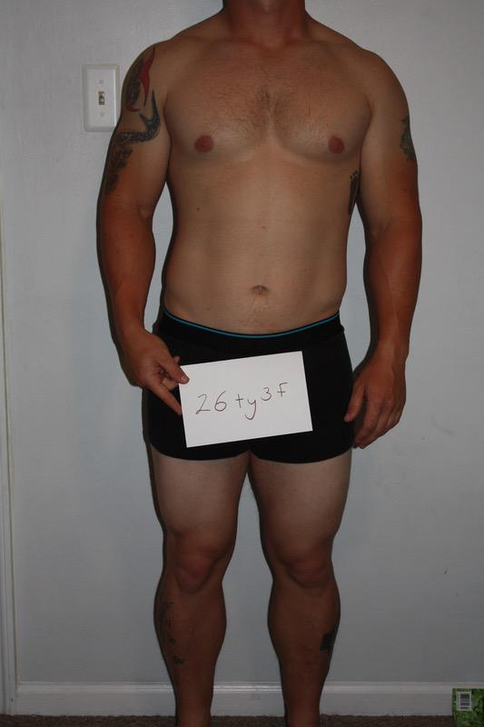 3 Pics of a 181 lbs 5 feet 7 Male Weight Snapshot