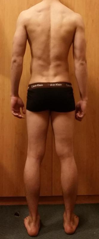 3 Photos of a 129 lbs 5'7 Male Weight Snapshot