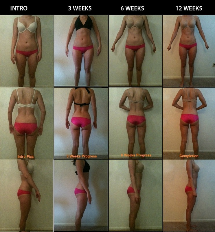 2 Pics of a 5 foot 6 114 lbs Female Weight Snapshot