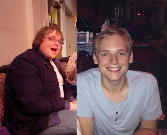Progress Pics of 64 lbs Weight Loss 5'7 Male 220 lbs to 156 lbs