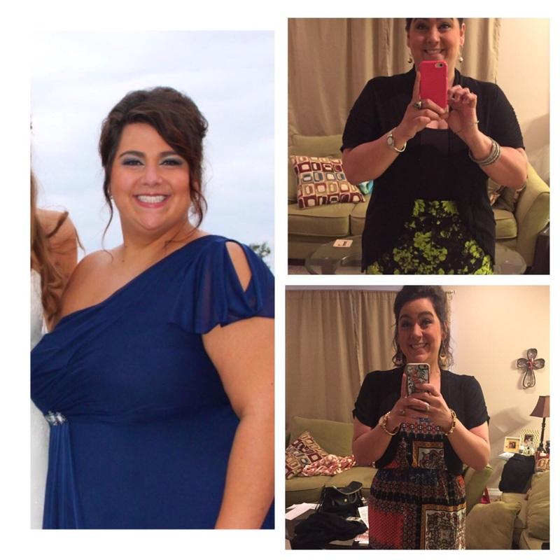 Progress Pics of 101 lbs Weight Loss 5 foot 10 Female 303 lbs to 202 lbs
