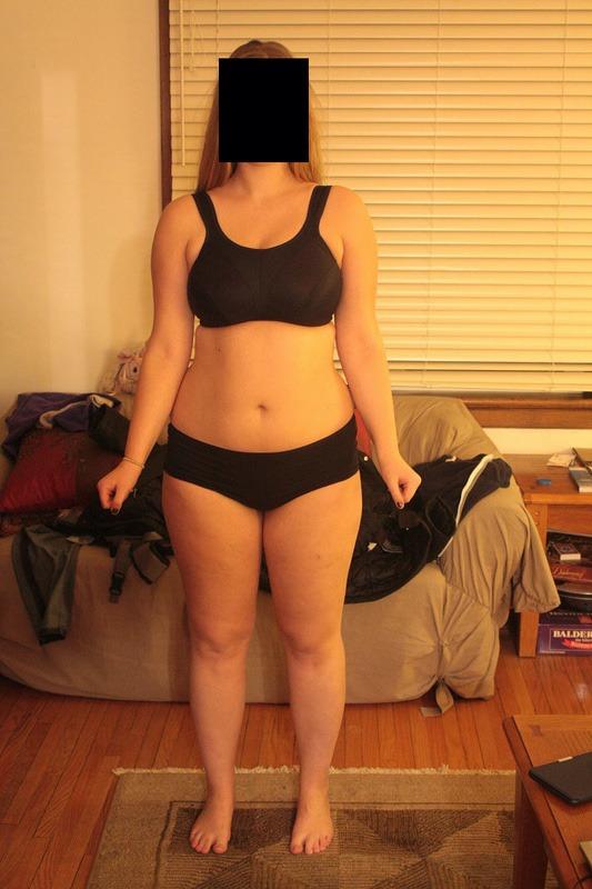 Progress Pics of 11 lbs Fat Loss 5'9 Female 192 lbs to 181 lbs