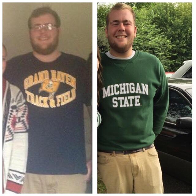 6'4 Male 40 lbs Fat Loss 315 lbs to 275 lbs