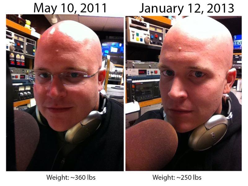180 lbs Fat Loss 6 foot 2 Male 400 lbs to 220 lbs