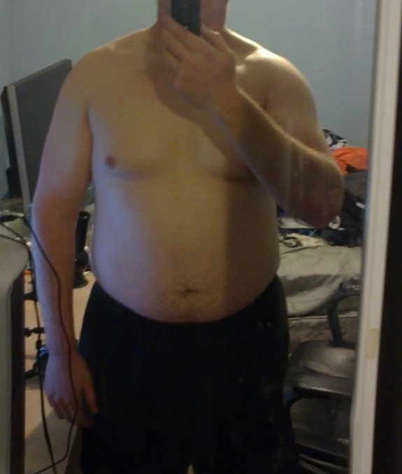 6'3 Male 40 lbs Weight Loss Before and After 275 lbs to 235 lbs