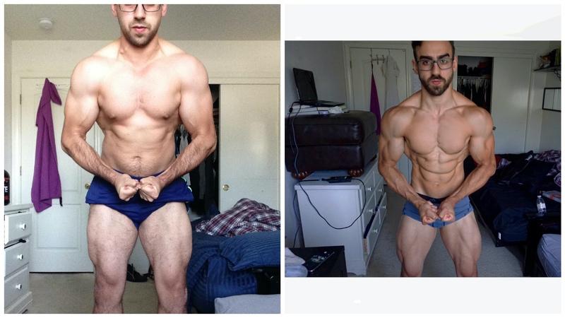5 foot 9 Male Progress Pics of 15 lbs Fat Loss 183 lbs to 168 lbs