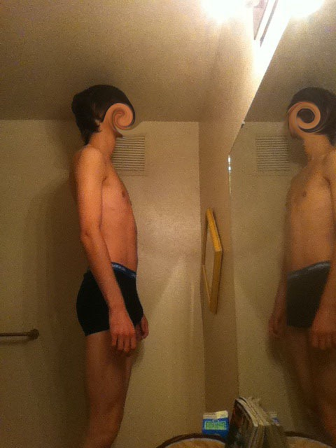 4 Pictures of a 151 lbs 6 feet 4 Male Weight Snapshot