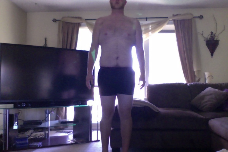 4 Pictures of a 6 foot 6 274 lbs Male Weight Snapshot