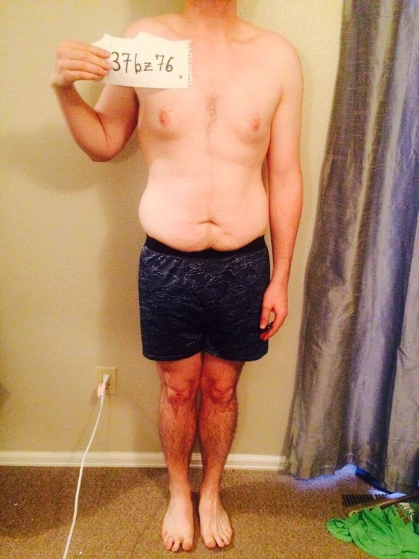 3 Pics of a 185 lbs 5'11 Male Weight Snapshot