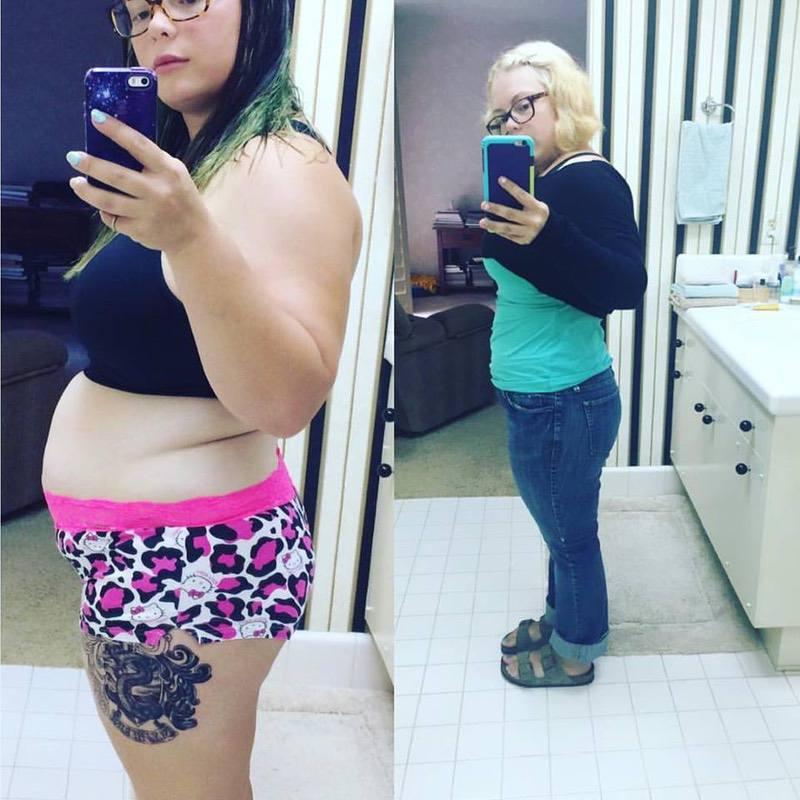 19 lbs Weight Loss 4 feet 11 Female 185 lbs to 166 lbs