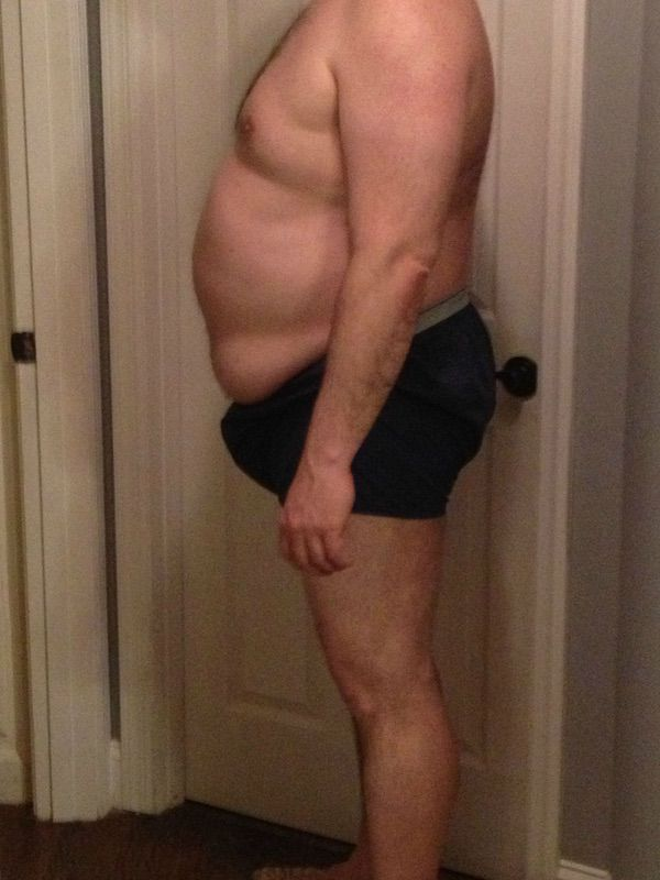 4 Pictures of a 268 lbs 6 feet 1 Male Weight Snapshot