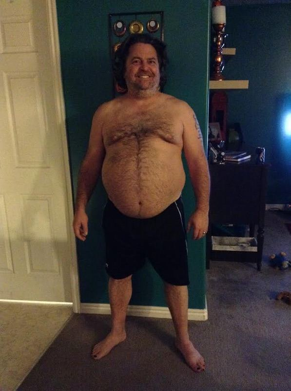 Before and After 90 lbs Weight Loss 5 foot 10 Male 280 lbs to 190 lbs