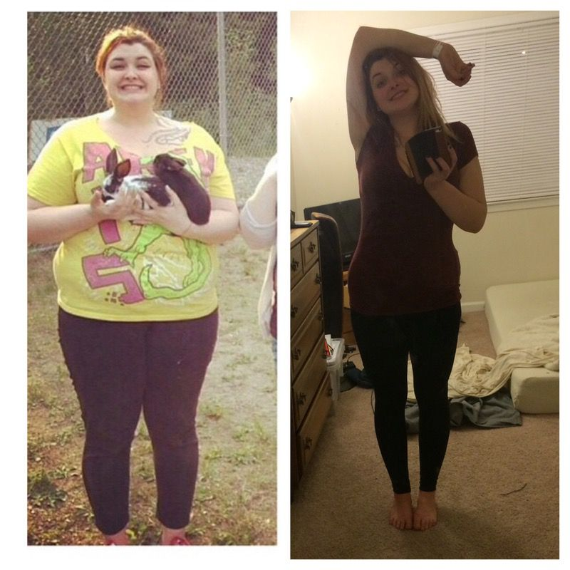 5 foot 9 Female Before and After 110 lbs Weight Loss 298 lbs to 188 lbs