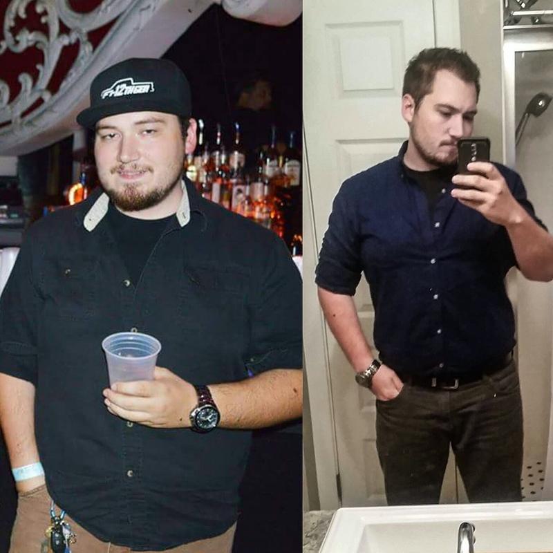 52 lbs Weight Loss 5'11 Male 275 lbs to 223 lbs