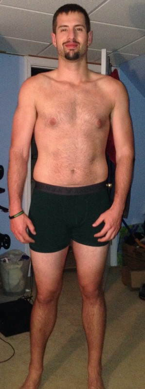 4 Pictures of a 6 feet 1 212 lbs Male Weight Snapshot