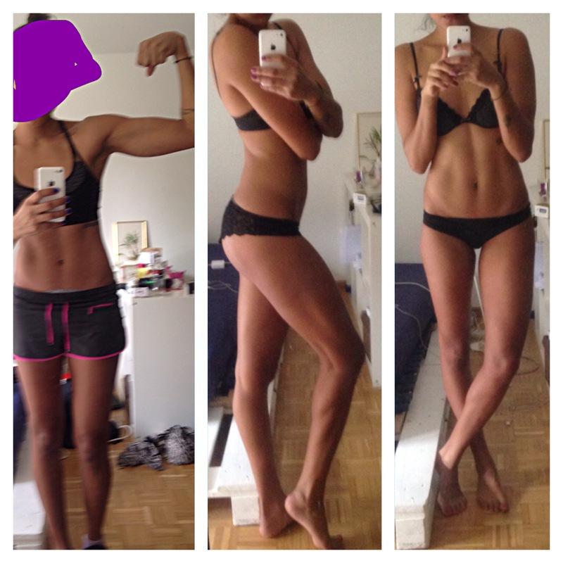 33 lbs Muscle Gain 5 feet 9 Female 117 lbs to 150 lbs