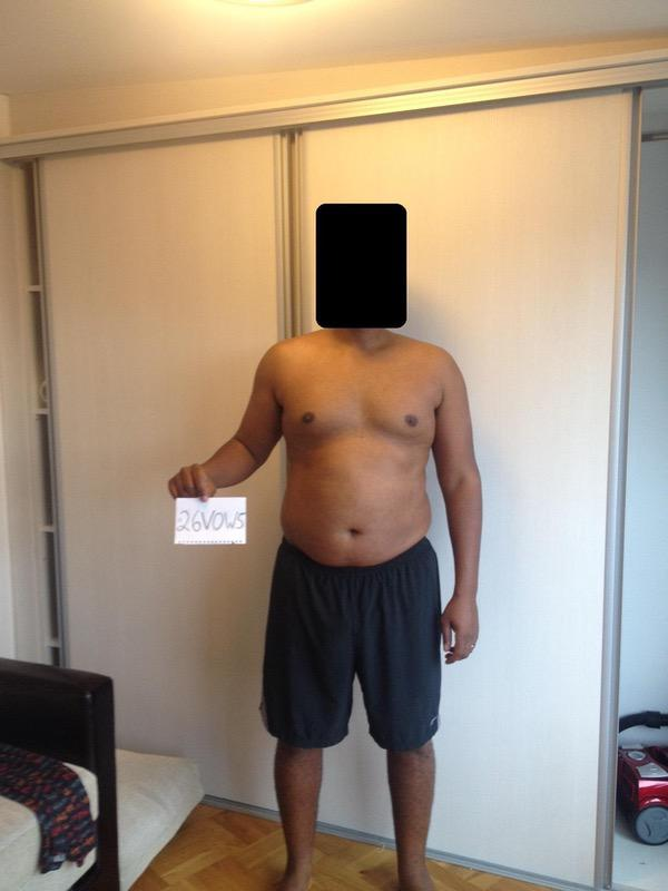 3 Photos of a 5 foot 8 205 lbs Male Weight Snapshot