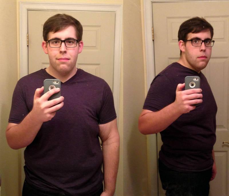 6 foot Male Progress Pics of 230 lbs Fat Loss 506 lbs to 276 lbs
