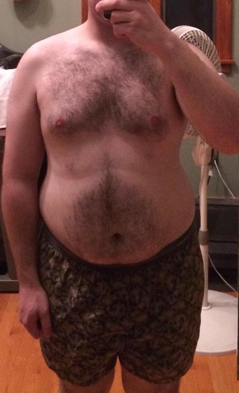 Progress Pics of 90 lbs Weight Loss 5 foot 10 Male 250 lbs to 160 lbs