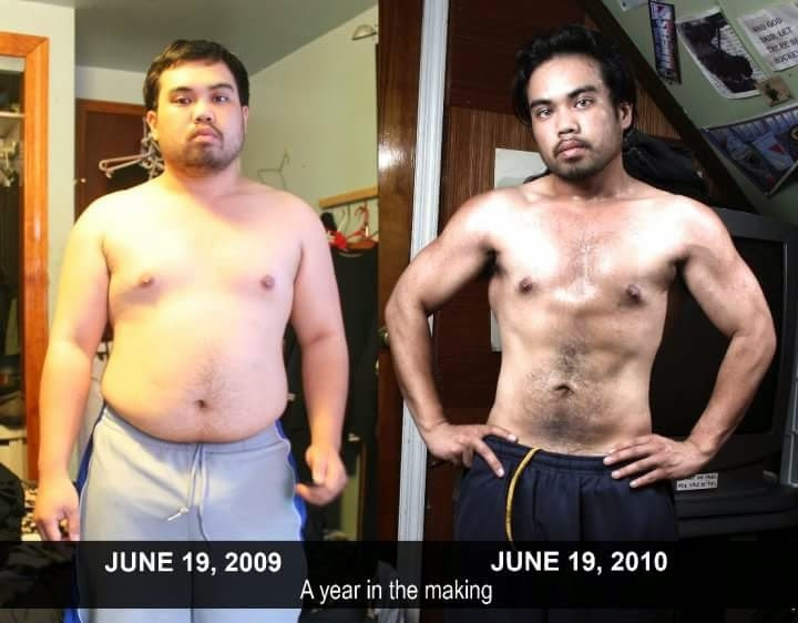 5'2 Male 70 lbs Weight Loss 200 lbs to 130 lbs