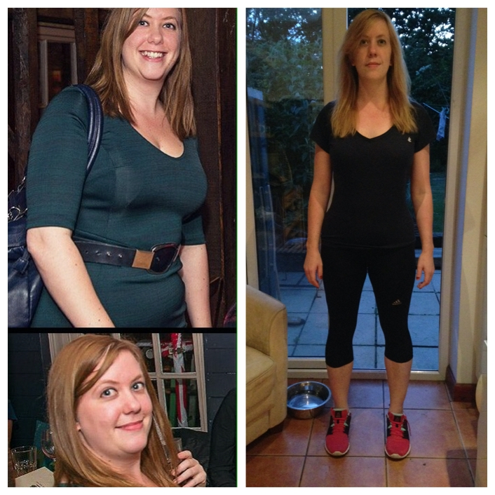Before and After 44 lbs Fat Loss 5 foot 7 Female 200 lbs to 156 lbs