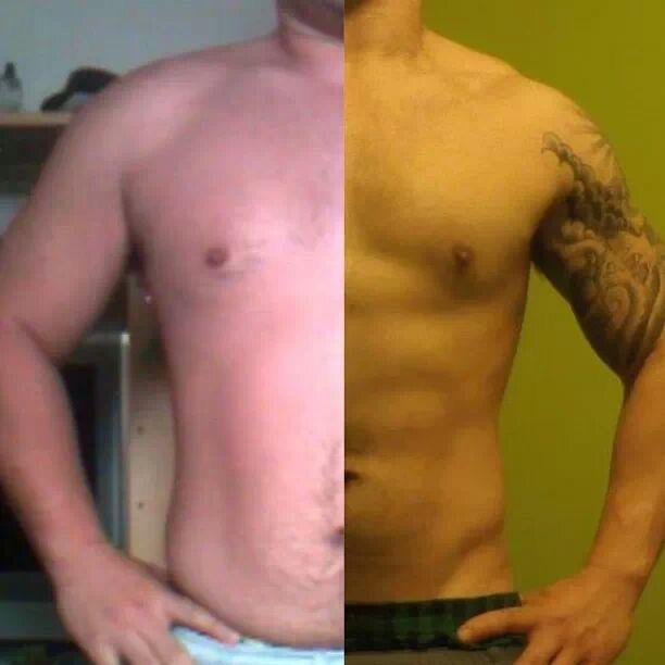 5 foot 6 Male Progress Pics of 70 lbs Weight Loss 225 lbs to 155 lbs