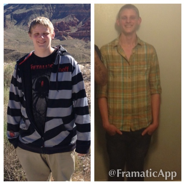6 feet 3 Male Before and After 63 lbs Weight Loss 235 lbs to 172 lbs