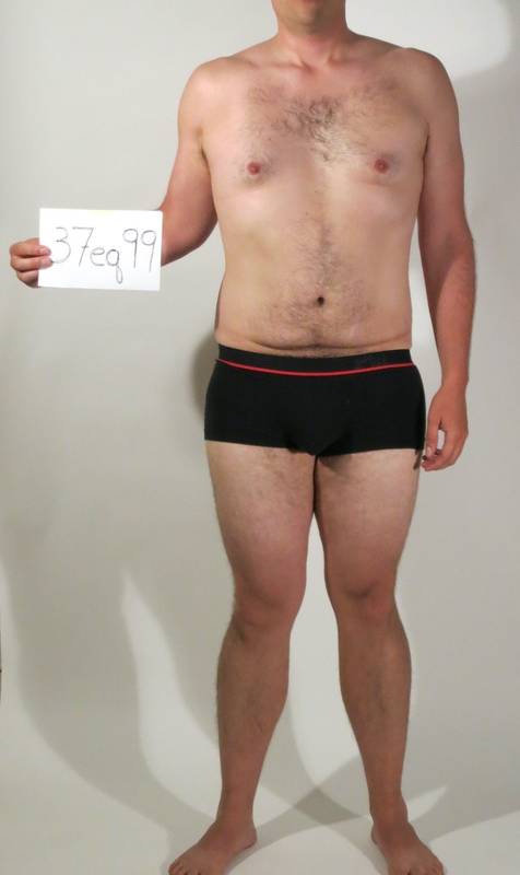 3 Pics of a 6 foot 204 lbs Male Weight Snapshot