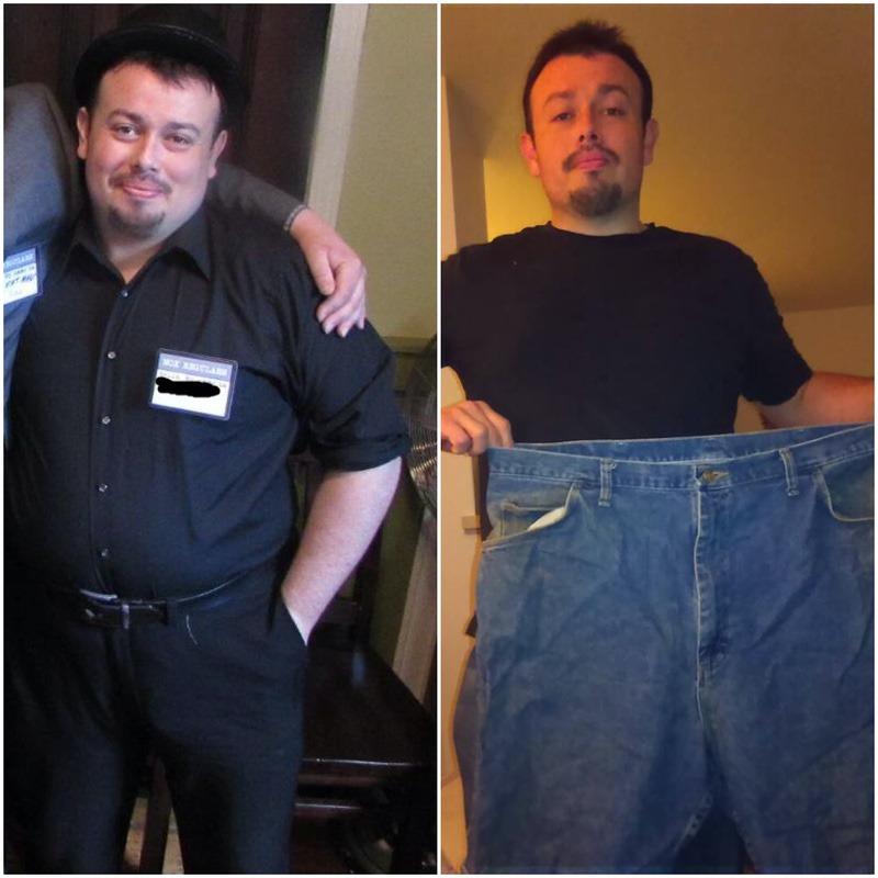 51 lbs Fat Loss 5 foot 8 Male 270 lbs to 219 lbs