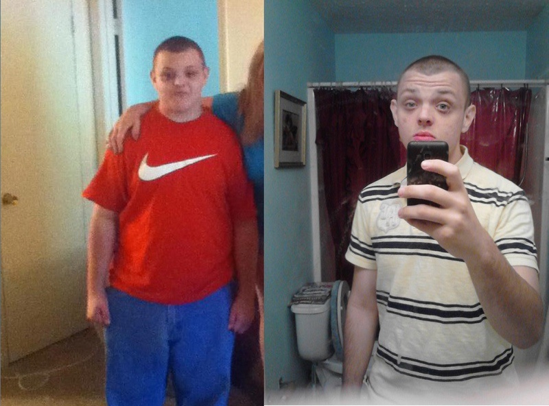 5'8 Male Before and After 64 lbs Weight Loss 238 lbs to 174 lbs
