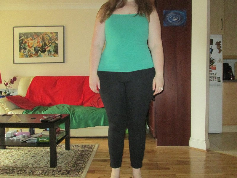 5 foot 11 Female Before and After 45 lbs Weight Loss 265 lbs to 220 lbs