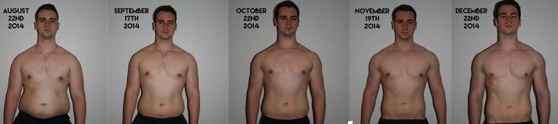 5 feet 11 Male 35 lbs Fat Loss 210 lbs to 175 lbs