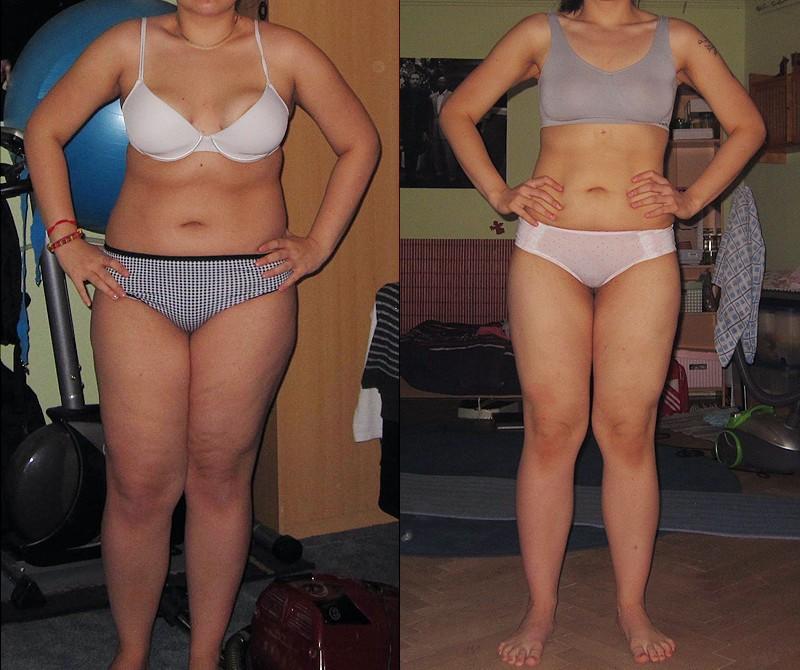 Progress Pics of 75 lbs Weight Loss 5 foot 7 Female 238 lbs to 163 lbs