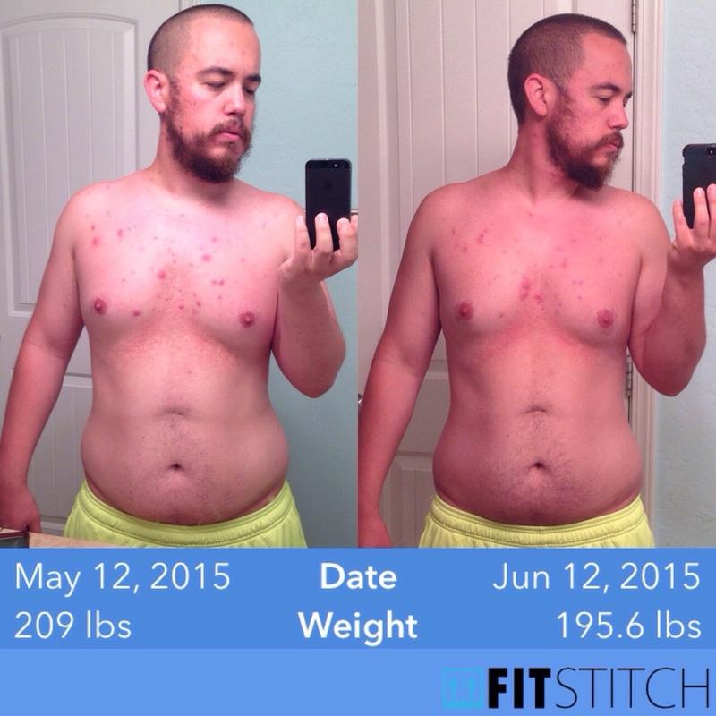 Progress Pics of 14 lbs Fat Loss 5 feet 9 Male 209 lbs to 195 lbs