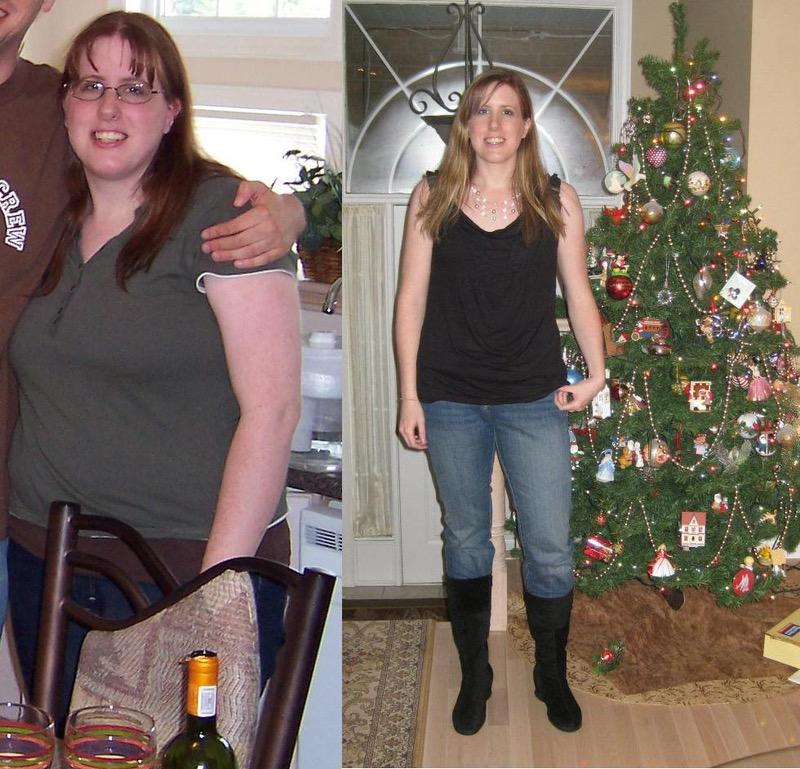 5'8 Female Before and After 85 lbs Weight Loss 230 lbs to 145 lbs