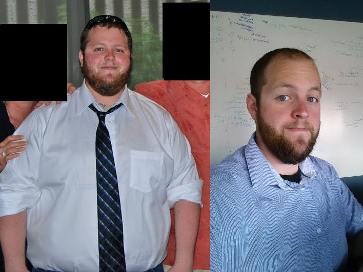 110 lbs Fat Loss 5'9 Male 320 lbs to 210 lbs