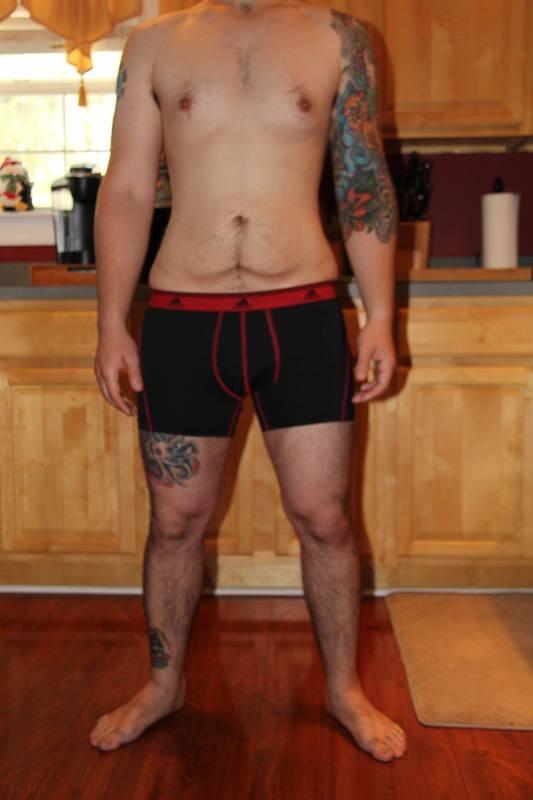 9 Photos of a 170 lbs 5 feet 8 Male Weight Snapshot